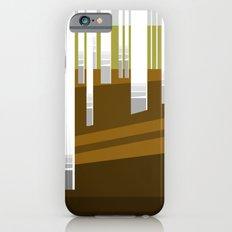Minimal Finland (silver birch forest) iPhone 6 Slim Case