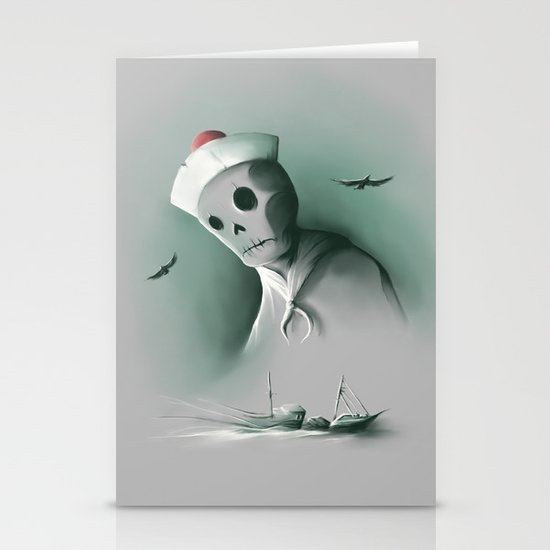 Wreckage of the past Stationery Card