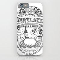 Maryland Crabs & Beer iPhone 6 Slim Case