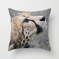 Cheetah 1 Throw Pillow