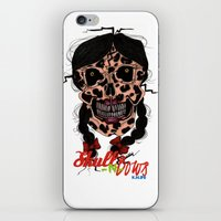 Skull-N-Bows iPhone & iPod Skin