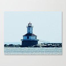 Summerside Harbour Lighthouse PEI Canvas Print
