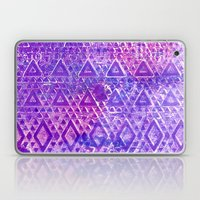 Purple Pyramiding Laptop & iPad Skin