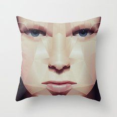 Facet_EF2 Throw Pillow