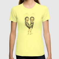 The Load Womens Fitted Tee Lemon SMALL