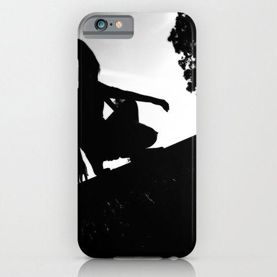 girl on a ledge iPhone & iPod Case