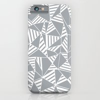 Abstract Lines B Grey iPhone 6 Slim Case