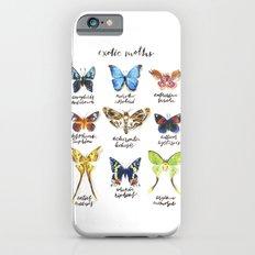 Exotic Moths Slim Case iPhone 6s