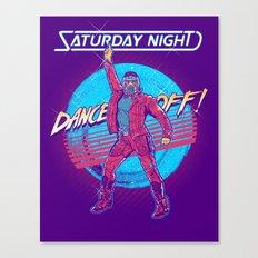 Saturday Night Dance-Off Canvas Print