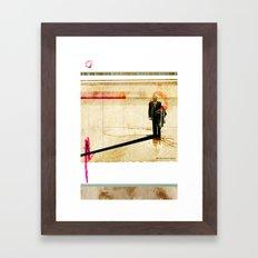 OUTSIDER// Framed Art Print