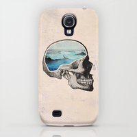 Galaxy S4 Cases featuring Brain Waves by Chase Kunz