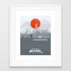 Avatar The Legend of Korra Poster Framed Art Print