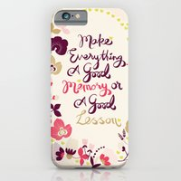 iPhone & iPod Case featuring Make Everything by Becca Pike