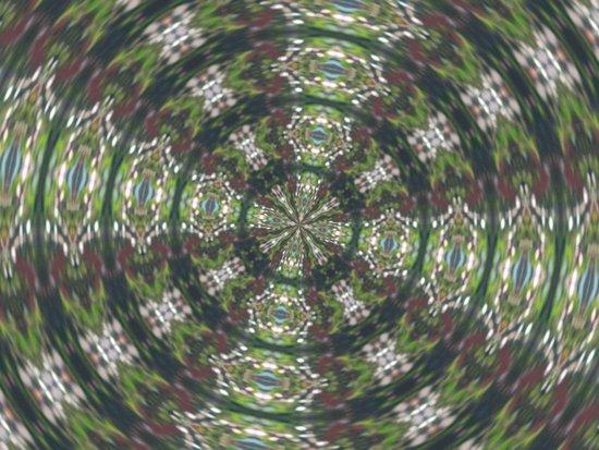 'The Star' Kaleiscope Art Print