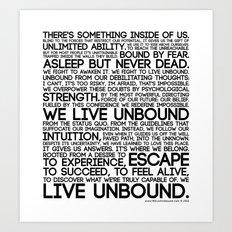 The Manifesto Art Print
