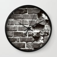 Brick House Wall Clock