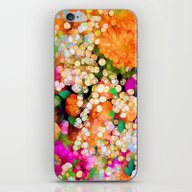 iPhone & iPod Skin featuring POP-Sparkles by Joke Vermeer