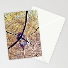 Wood Cracks Stationery Cards