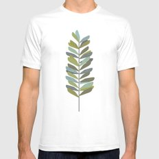 Branch 4 Mens Fitted Tee SMALL White