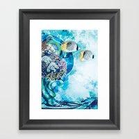Great Barrier Reef Framed Art Print