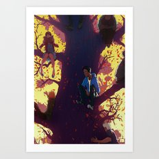 Communitree Art Print