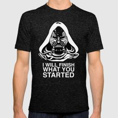 Kylo Vader Mens Fitted Tee Tri-Black SMALL