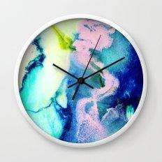 Rosa Caelum Wall Clock