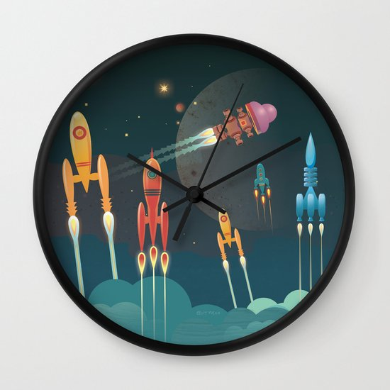 Grand Départ Wall Clock