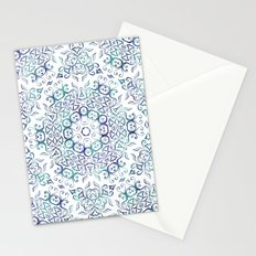Harmony In Blue Stationery Cards