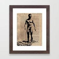 As I Moved Deeper Into T… Framed Art Print