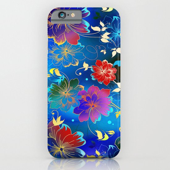 Floral Pattern 2 iPhone & iPod Case