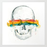 The Anonymity of Existence Art Print