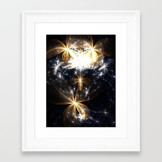 Butterfly's Heaven Framed Art Print