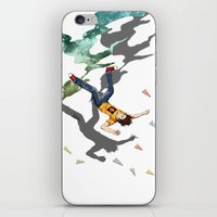 Fall Crash Infect iPhone & iPod Skin