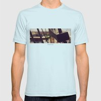 SET SAIL Mens Fitted Tee Light Blue SMALL