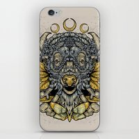 Buffalo Attack iPhone & iPod Skin