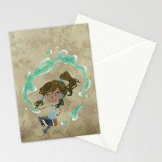 Chibi Korra Stationery Cards
