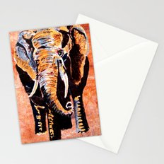 Quilted African Life. Stationery Cards
