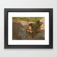 La Rivière Aux Tortues Framed Art Print