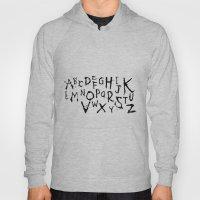 Alphabet #1 Hoody