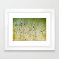 The Berry Snatchers Framed Art Print
