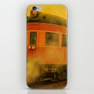 CHRISTMAS STEAM TRAIN iPhone & iPod Skin