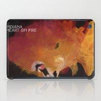 INDIANA - Heart On Fire iPad Case