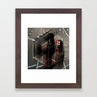 Stay on the Line Framed Art Print