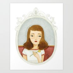 Esther Greenwood Art Print