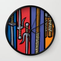 Four Humors Wall Clock