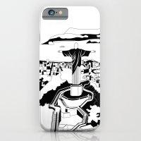 Rio De Janeiro Black And… iPhone 6 Slim Case