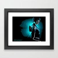 Quorra Framed Art Print