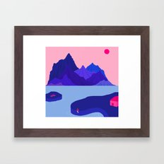 Mountain Hike//Missing B… Framed Art Print