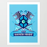 Avatar Nations Series - Water Tribe Art Print